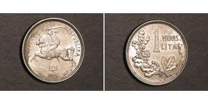 1 Litas Litauen (1991 - ) Silber