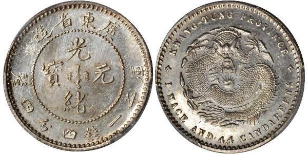 1 Mace Китайская Народная Республика Серебро