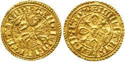 1 Maravedi Reino de Portugal (1139-1910) Oro Sancho I de Portugal (1154-1212)
