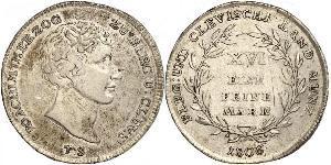 1 Mark 联邦州 (德国) 銀