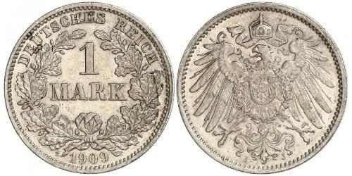 1 Mark Empire allemand (1871-1918) Argent
