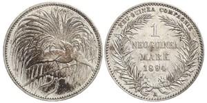 1 Mark Nuova Guinea Argento