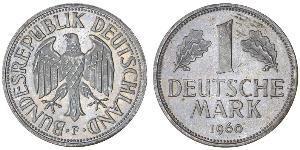 1 Mark West Germany (1949-1990) Copper/Nickel