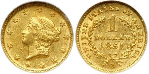 1 Mark  Gold