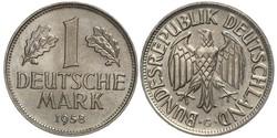 1 Mark Alemania Occidental (1949-1990) Níquel/Cobre