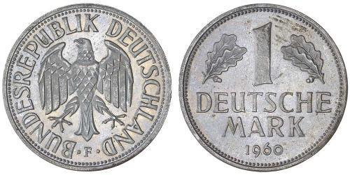 1 Mark Germania Ovest (1949-1990) Rame/Nichel