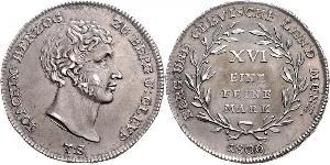 1 Mark States of Germany Silber