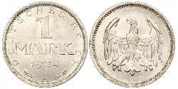 1 Mark Weimarer Republik (1918-1933) Silber