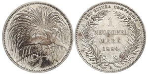 1 Mark New Guinea Silver