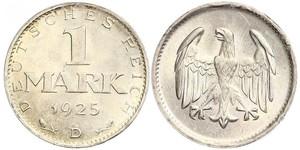 1 Mark Weimar Republic (1918-1933) Silver