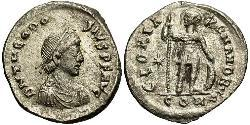 1 Miliarensis Empire byzantin (330-1453) Argent Théodose II (401-450)