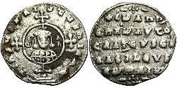 1 Miliaresion Візантійська імперія (330-1453) Срібло Іоанн Цимісхій (925-976)