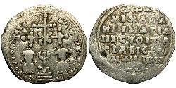 1 Miliaresion Візантійська імперія (330-1453) Срібло Михаїл VII Дука (1050-1078)
