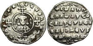 1 Miliaresion Byzantine Empire (330-1453) Silver John I Tzimiskes (925-976)