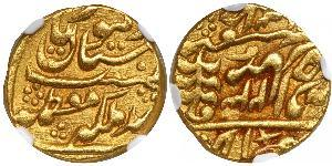 1 Mohur Ancient India Gold
