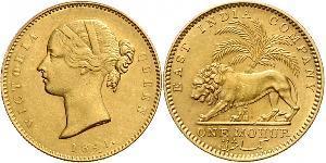 1 Mohur Britisch-Indien (1858-1947) Gold Victoria (1819 - 1901)
