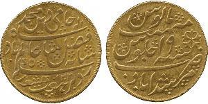 1 Mohur Ancient India Oro