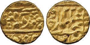 1 Mohur India Oro