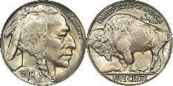 1 Nickel США (1776 - ) Медь