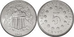 1 Nickel / 5 Цент США (1776 - ) Нікель/Мідь