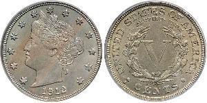 1 Nickel / 5 Cent 美利堅合眾國 (1776 - ) 銅/镍