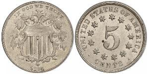 1 Nickel / 5 Cent USA (1776 - ) Copper/Nickel