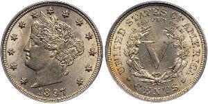 1 Nickel / 5 Cent États-Unis d