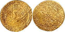 1 Noble Kingdom of England (927-1649,1660-1707) Gold Edward III (1312-1377)