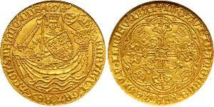 1 Noble Kingdom of England (927-1649,1660-1707) Gold Henry VI (1421-1471)