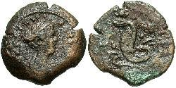 1 Obol Römische Kaiserzeit (27BC-395) Bronze Faustina II (130-175)