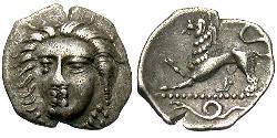 1 Obol Ancient Greece (1100BC-330) Silver