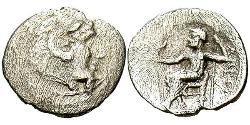 1 Obol Macedonian Kingdom (800BC-146BC) Silver Alexander III of Macedon (356BC-323BC)