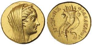 1 Oktadrachm Эллинистиический Египет (332BC-30BC) Золото