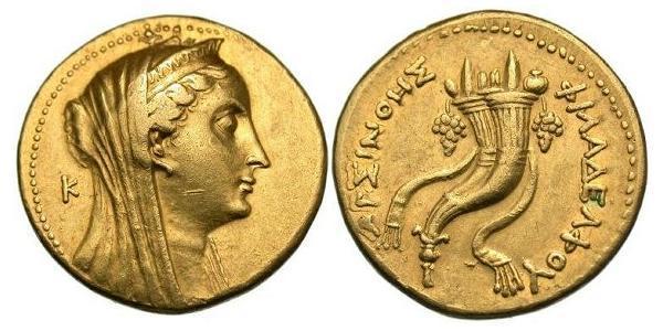 1 Oktadrachm 托勒密王國 (305 BC - 30 BC) 金