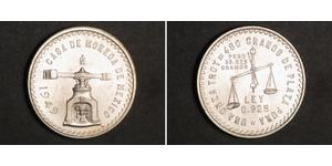 1 Onza Messico (1867 - ) Argento
