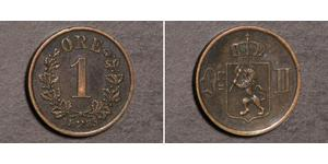 1 Ore 挪威 銅