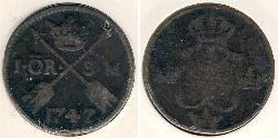 1 Ore 瑞典 銅