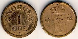 1 Ore 挪威 青铜