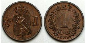 1 Ore Norwegen Kupfer