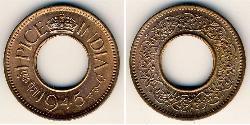 1 Paisa Britisch-Indien (1858-1947) Bronze