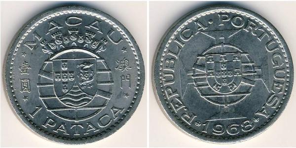 1 Pataca Macau (1862 - 1999) Nickel