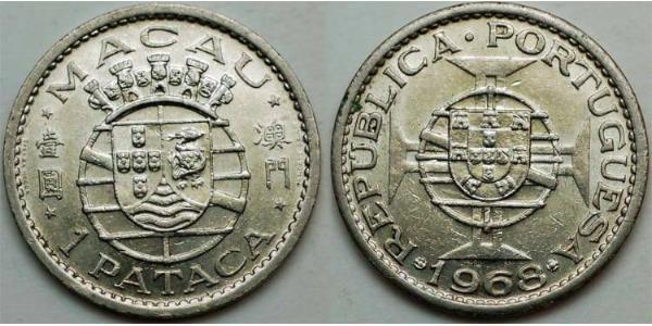 1 Pataca Portogallo / Macao (1862 - 1999)