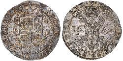 1 Patagon 西屬尼德蘭 (1581 - 1714) 銀 Philip IV of Spain (1605 -1665)