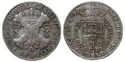 1 Patagon Spanische Niederlande (1581 - 1714) Silber Karl II. von Spanien (1661-1700)