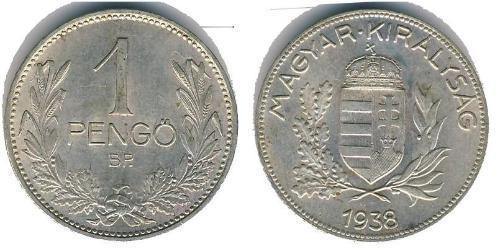 1 Pengo Ungarn (1989 - ) Silber