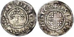 1 Penny 英格兰王国 銀 Henry II (1133 - 1189)
