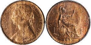 1 Penny 大不列颠及爱尔兰联合王国 (1801 - 1922) 銅 维多利亚 (英国君主)