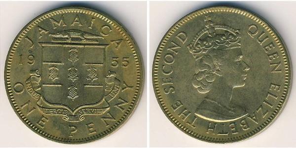 1 Penny Jamaica (1962 - ) Bronce