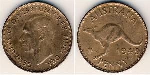 1 Penny Australie (1939 - ) Bronze