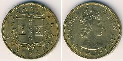 1 Penny Jamaika (1962 - ) Bronze